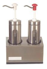 Sauce dispenser set