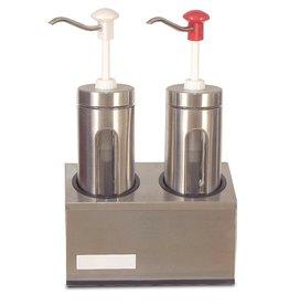 Saus dispenser set