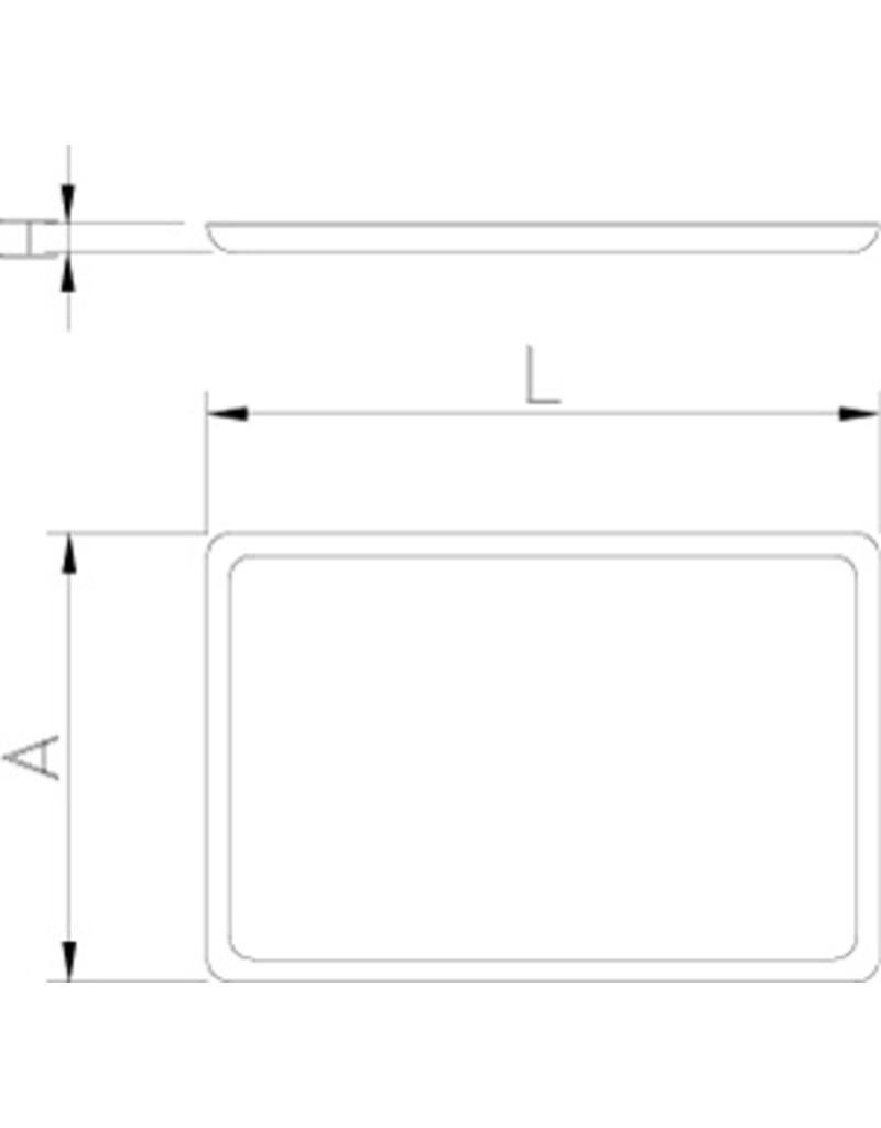 GN 1/1 tray anti-slip