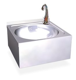 Washbasin with electronic control