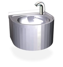 Round sink with temperature control