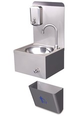 Hand wash basin: XSmall - wall-mounted