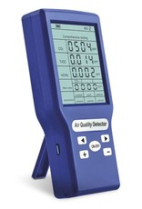 Air quality monitor with CO2 detector