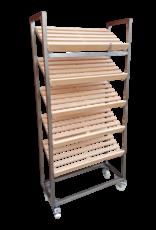 Bread rack inox