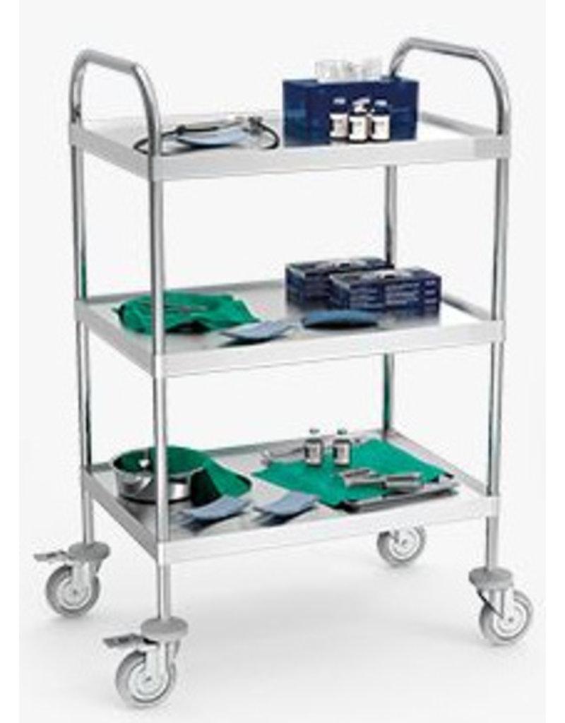 serving trolley large model 3 levels