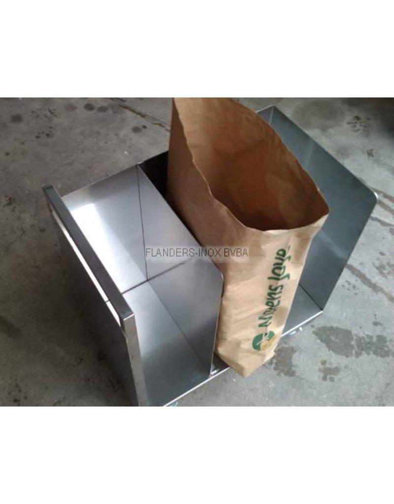 Zakkenwagen klein model 3 zakken
