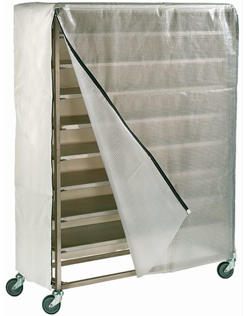 Seabiscuit line Bread cart cover 1300x470x1520mm with or without transparent opening