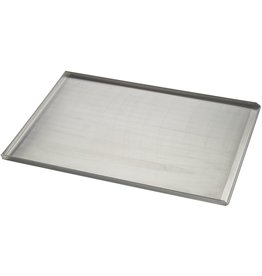 Seabiscuit line Bakplaat aluminium 400x600mm 3x90° perfo 3mm