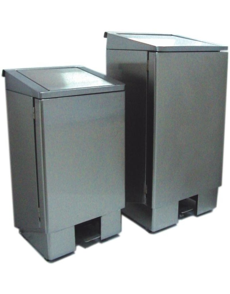 Seabiscuit line Dustbin soft contact 60 90 and 120L with pedal and auger.