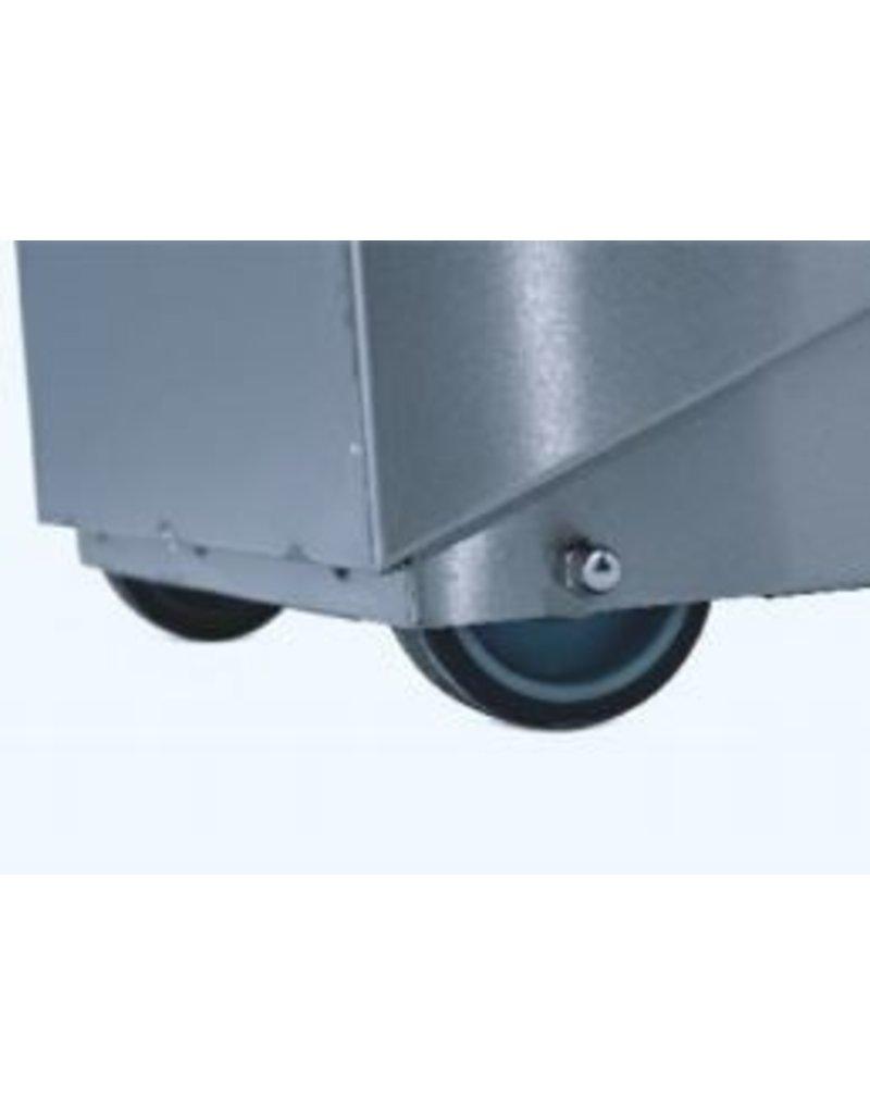 Seabiscuit line Vuilnisbak soft contact 60 90 en 120L met pedaal en vijzel.