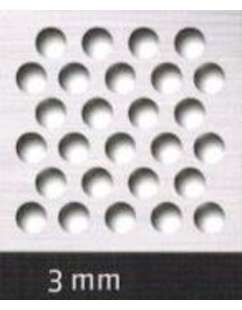 Seabiscuit line Bakplaat aluminium 600x800mm perfo 3mm