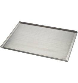 Seabiscuit line Bakplaat aluminium 600x800mm 3x90° perfo 3mm