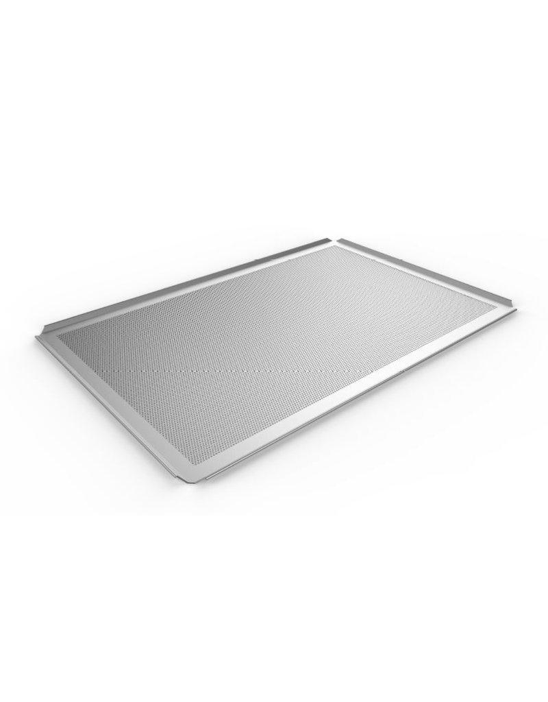 Seabiscuit line Bakplaat aluminium 400x800mm perfo 3mm 4x45°