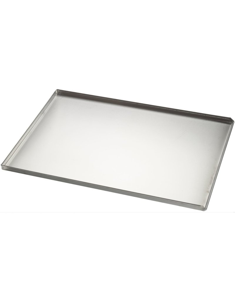 Seabiscuit line Baking tray aluminum 400x600mm 3x90°  and pouring edge full plate