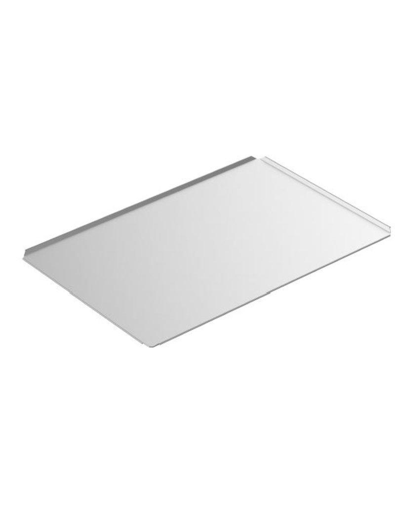 Seabiscuit line Bakplaat aluminium 400x800mm volle plaat hoeken 4x45°