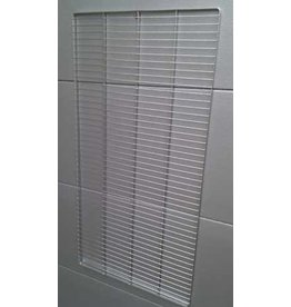 Seabiscuit line Stainless steel grid 1200x600mm