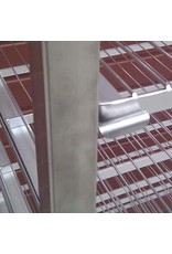 Seabiscuit line Inox rooster 1200x600x15mm
