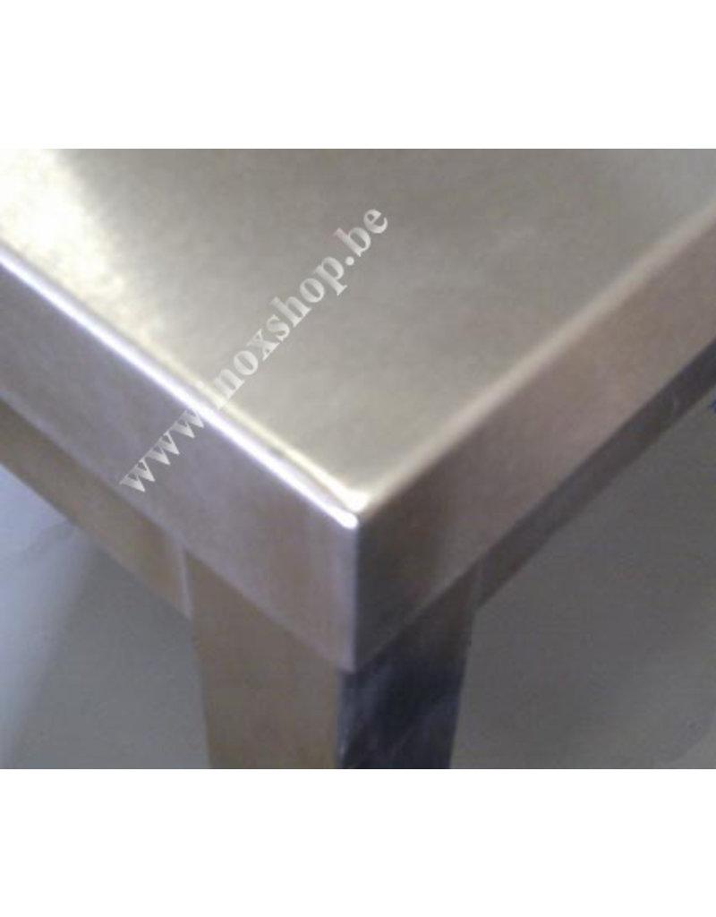 Seabiscuit line Werktafels 800mm diepte met open onderstel en een lengte van 700 tot 2900mm