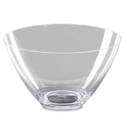 Bowl in transparent polycarbonate