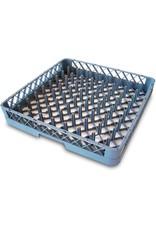 Dishwasher rack basket for plates