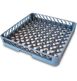 Dishwasher rack basket for plates