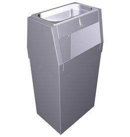 Combi asbak en vuilnisbak