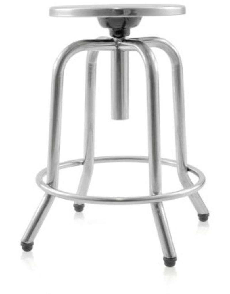 Seat in stainless steel