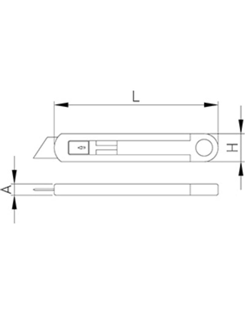 Cutter with safety closure