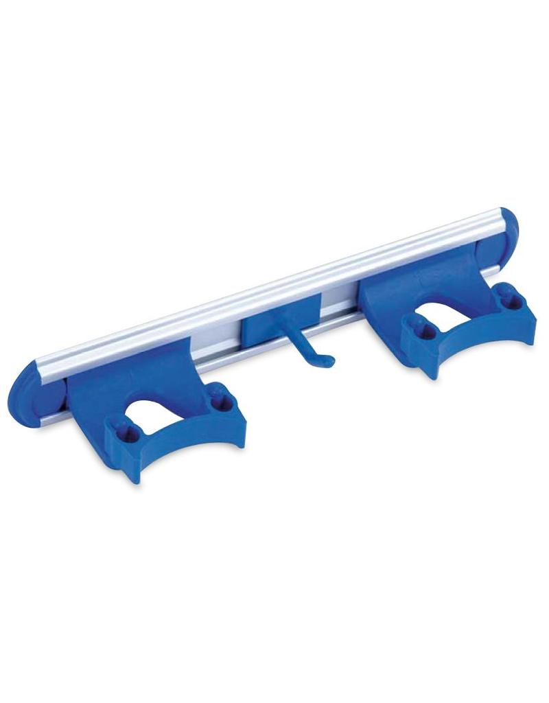 Stick holder with clips
