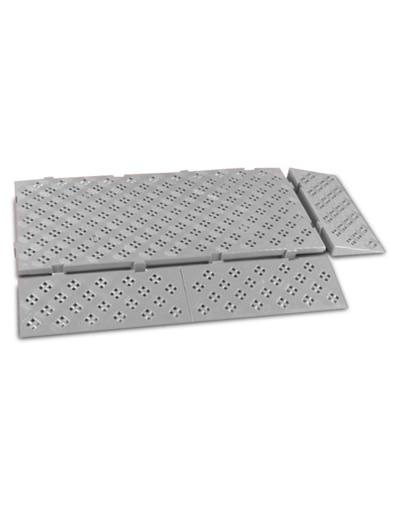 Ramp for non-slip tile