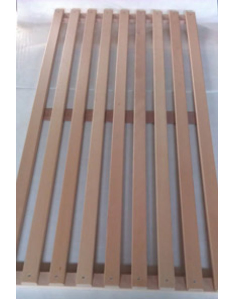 Beech wood grid for bread rack,