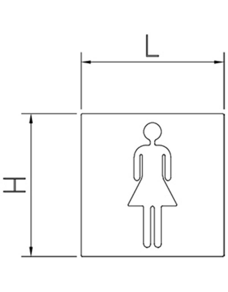 Geen toegang pictogram
