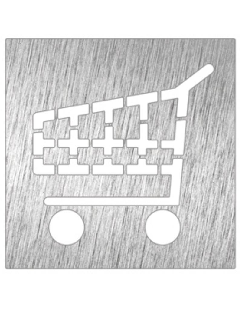 Winkelkarren pictogram