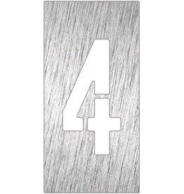 Nummer 4 pictogram