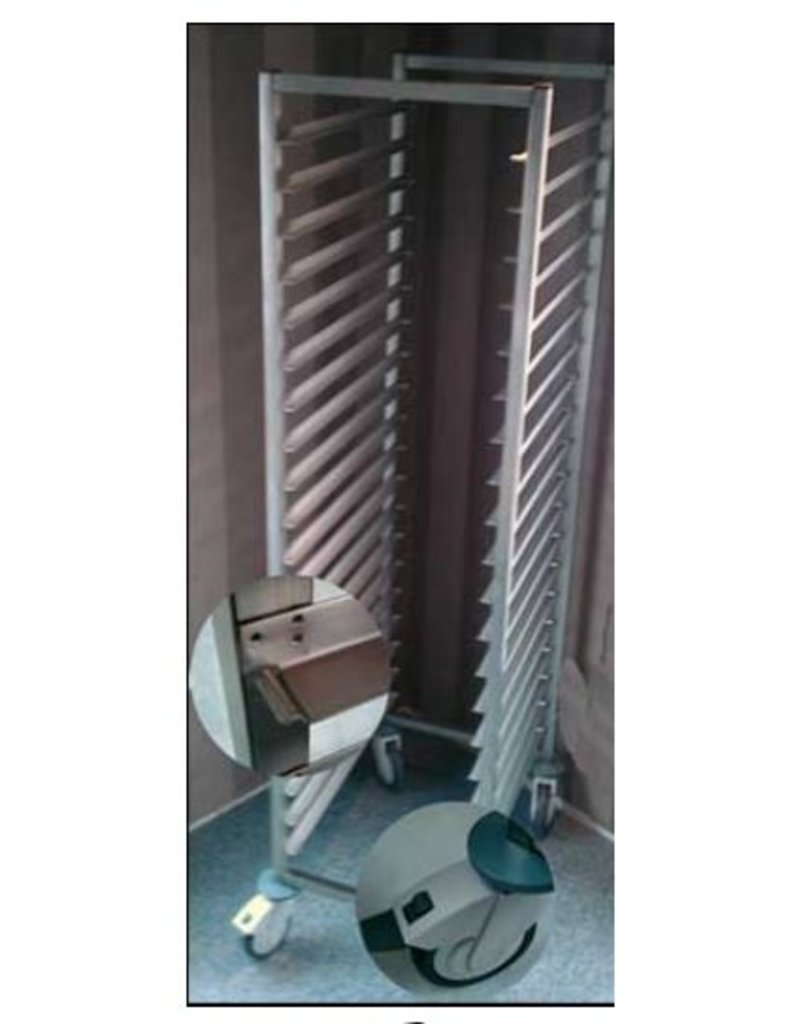 Broodway promo Plate rack rack trolley 400x600mm