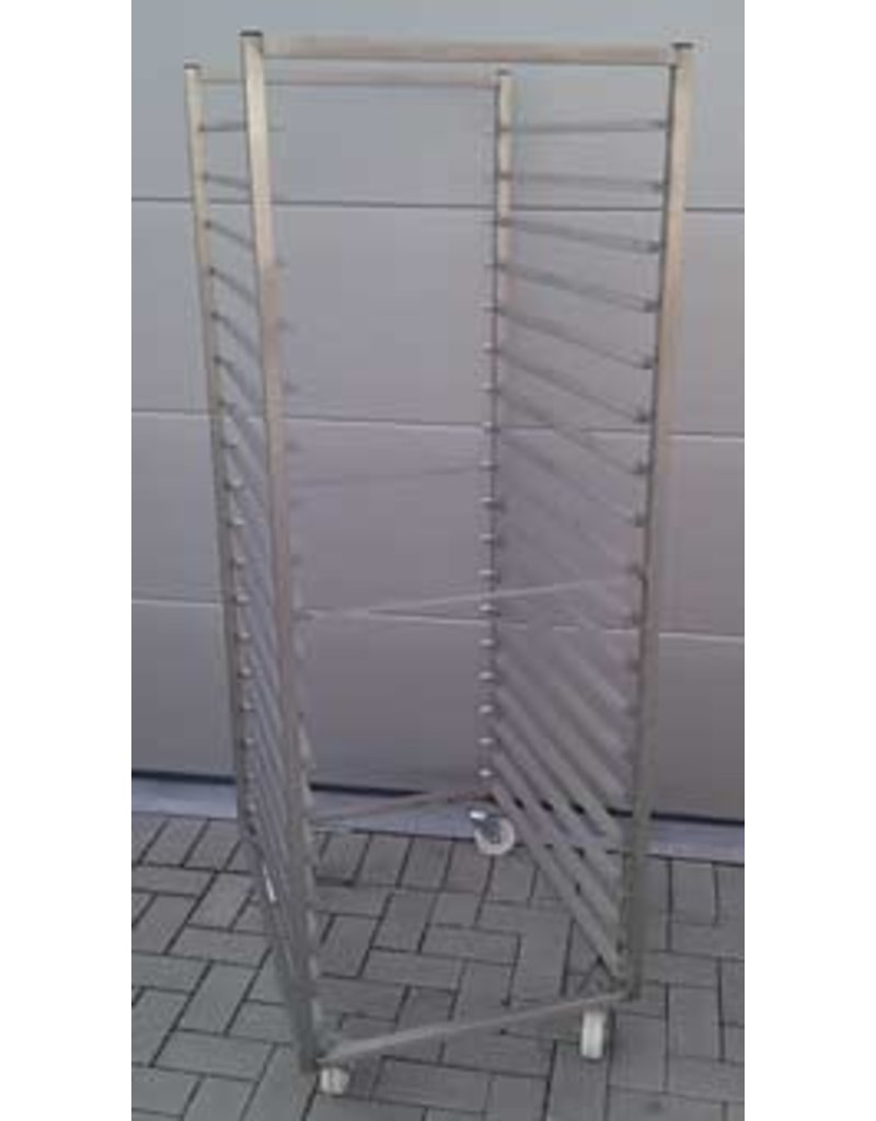 Plate rack / shelf trolley 600x800mm 18V