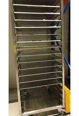 Plate rack / shelf trolley 600x800mm PRO