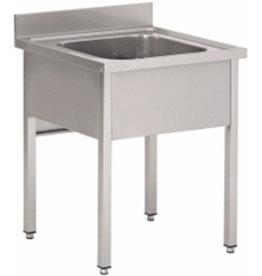 Dish basin 600x600mm open
