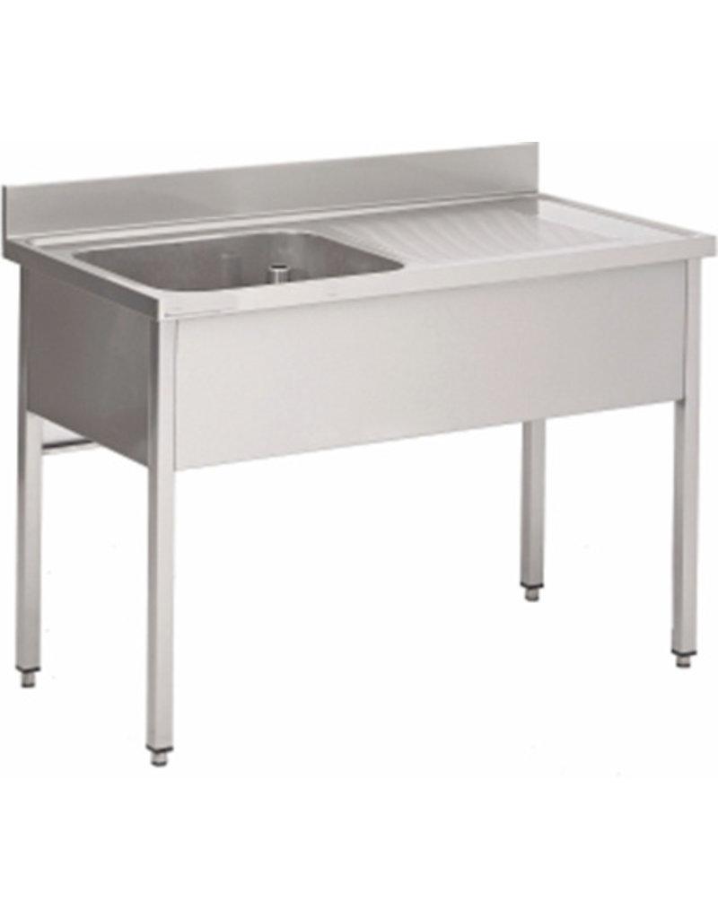 Afwasbak 1 bak  meubel 700mm diepte