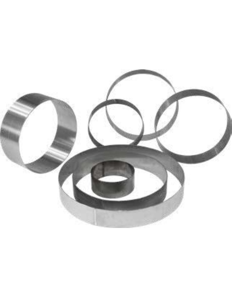 Cake ring made of stainless steel