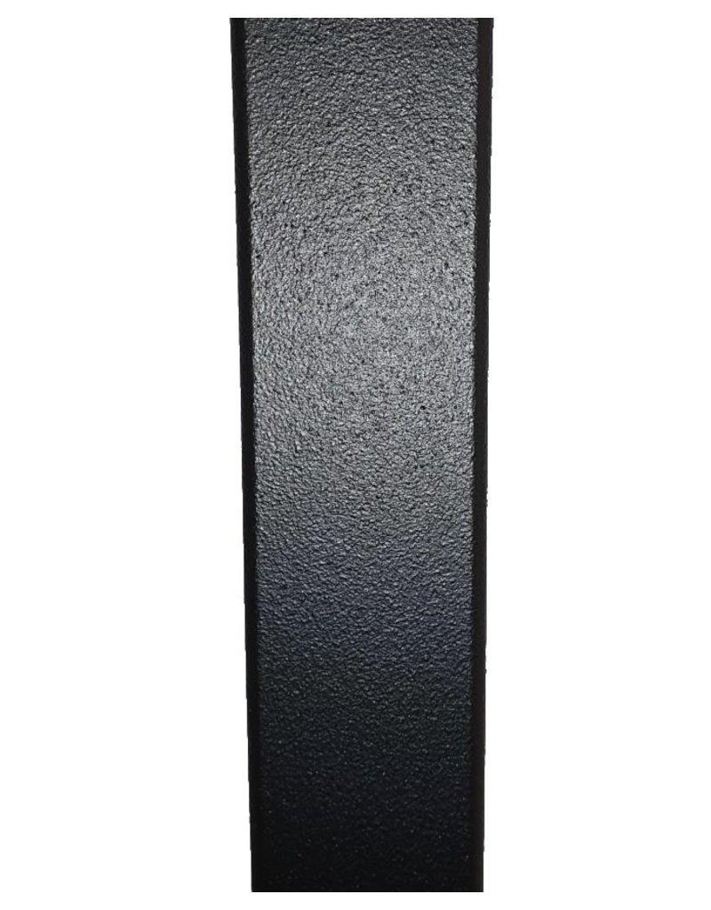 Zwart rek voor manden of platen