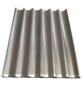Baguette tray 60x80 6 gutters