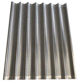 Baguette tray 60x80 7 gutters