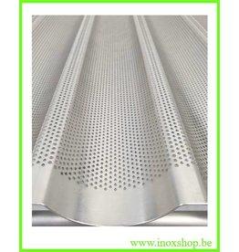 Baguette tray 60x80 10 gutters