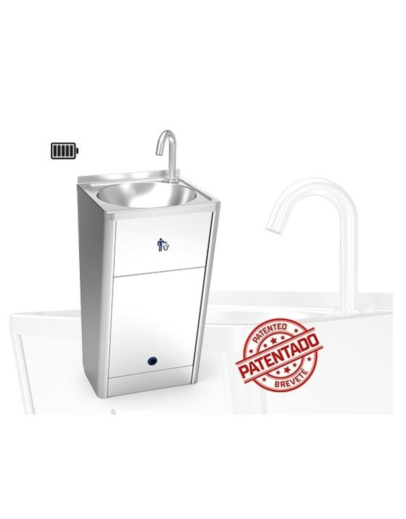 Fricosmos Mobile Hand Washer Electronic Washbasin With Rechargeable Battery