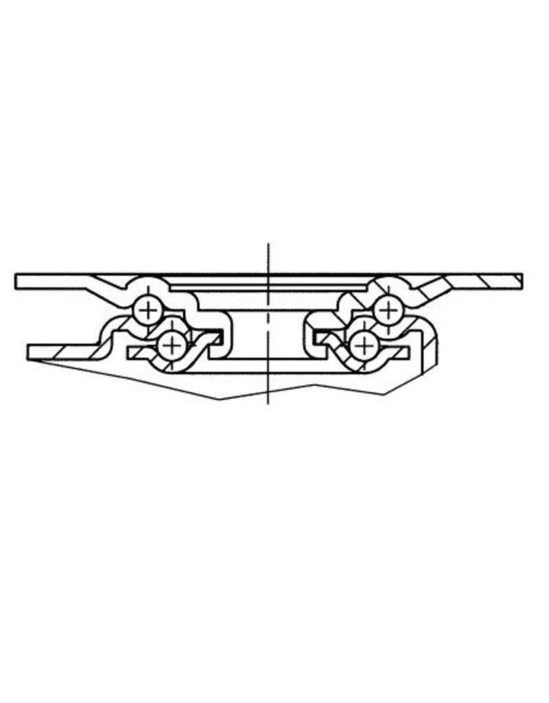 Seabiscuit line Hittebestendige wielen voor rotorkar 80mm