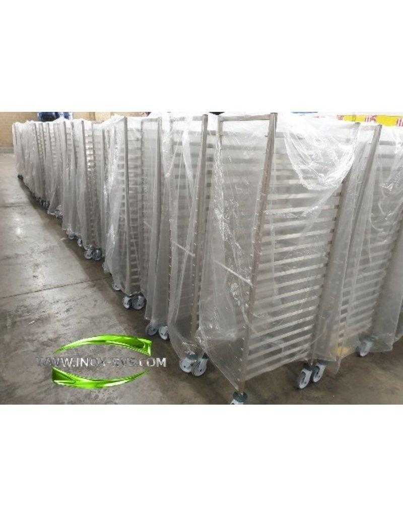 Plate rack regaalwagen 600x400mm