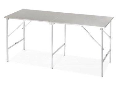 Opklapbare inox tafel standaard