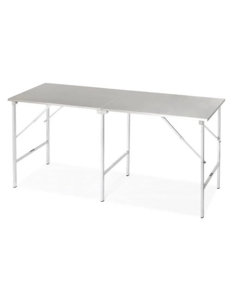 standaard inox opklapbare tafel
