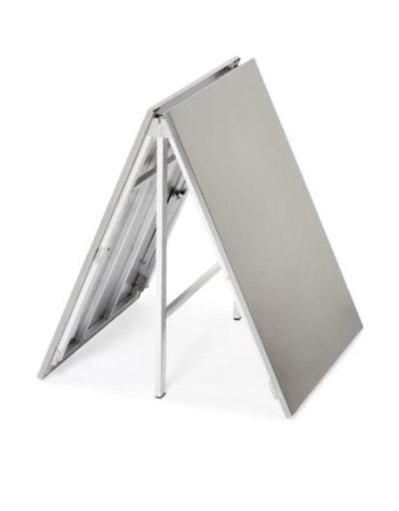Extra high folding table 97cm high